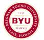 ブリガムヤング大学 ハワイ校