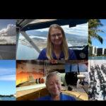 長岡市立中学校と真珠湾航空博物館を繋いで