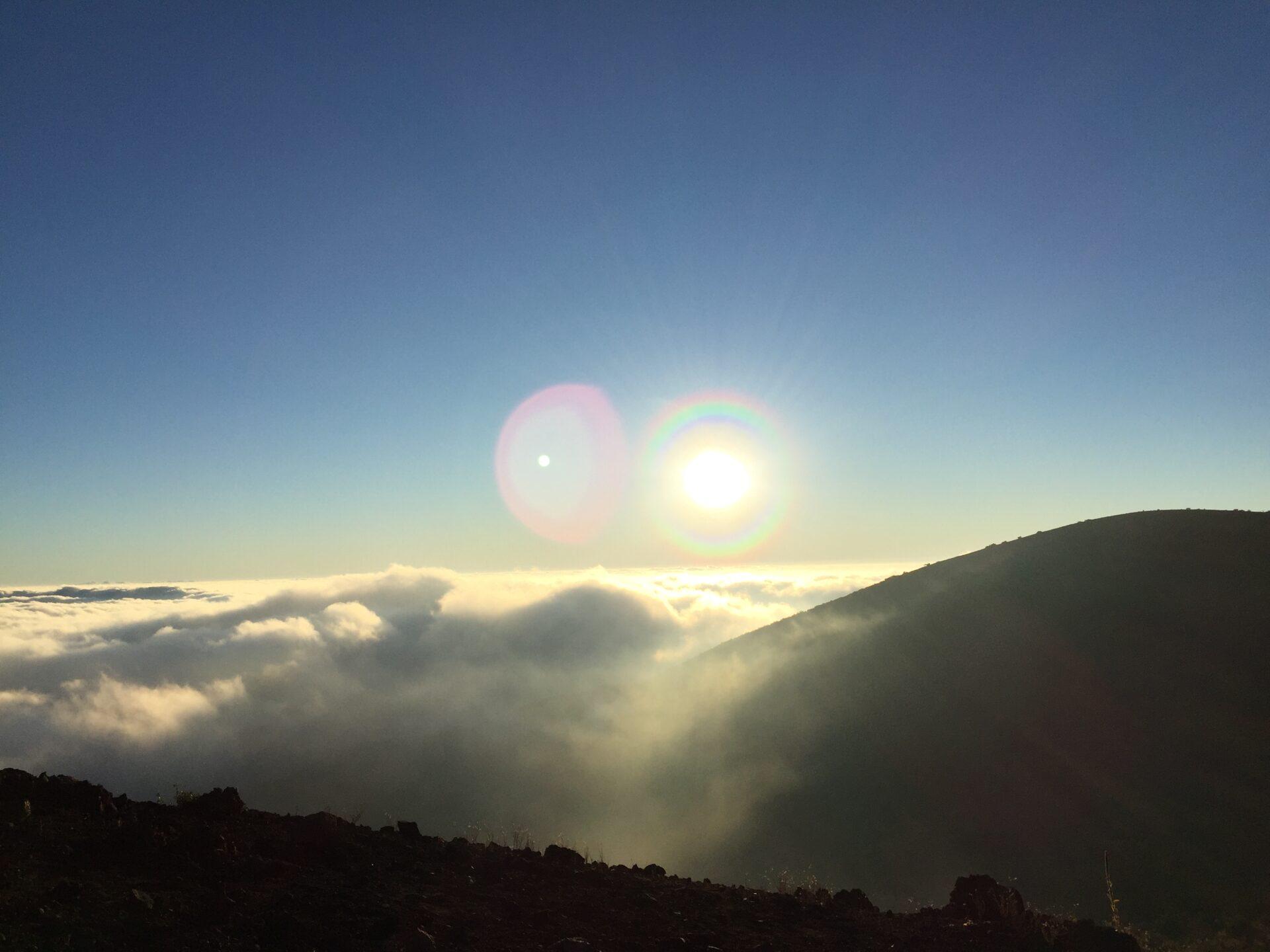 ハワイ島 マウナケア山