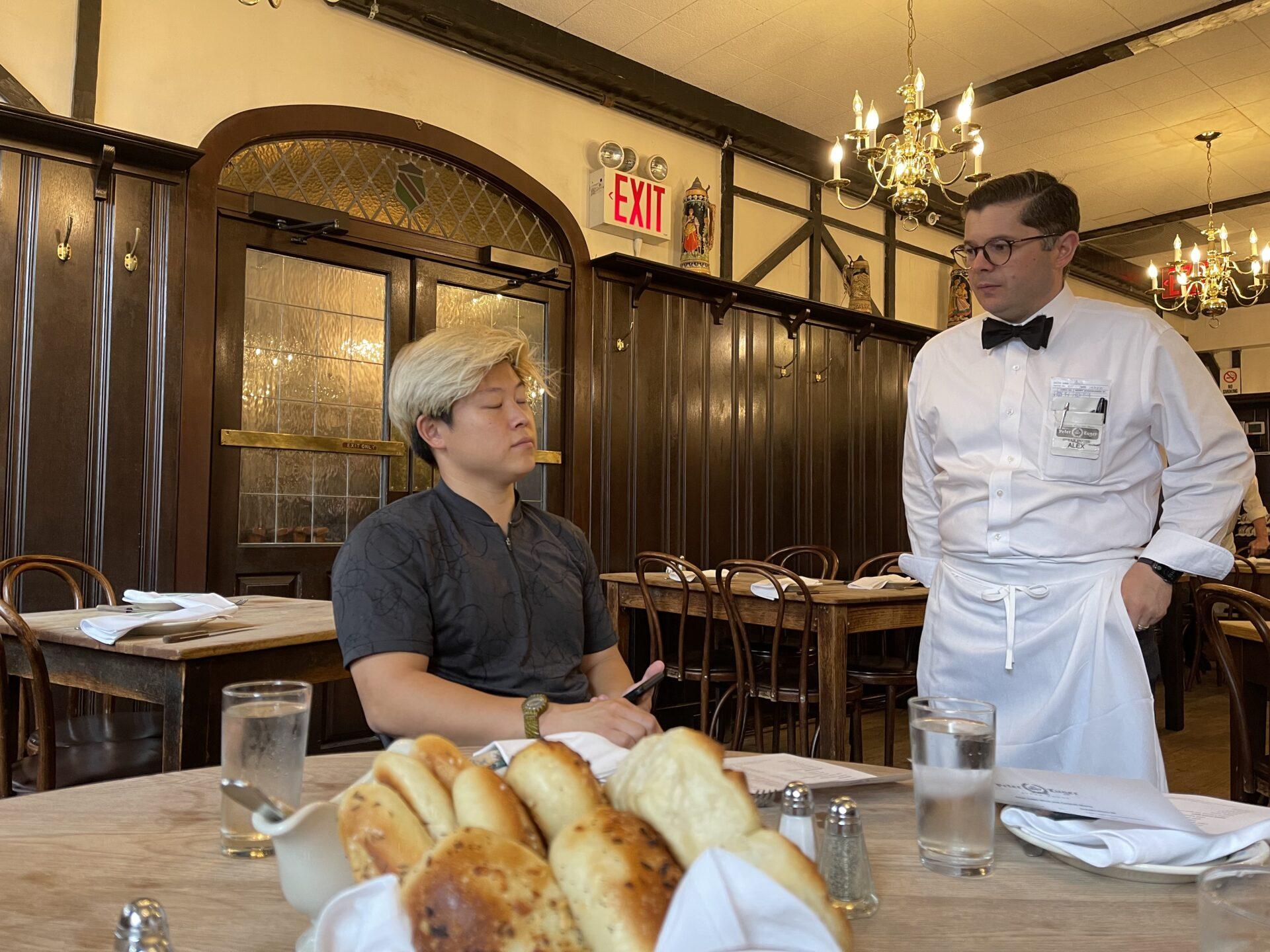 1887年設立ステーキハウス 名門ピーター・ルガーレストランにて ブルックリン