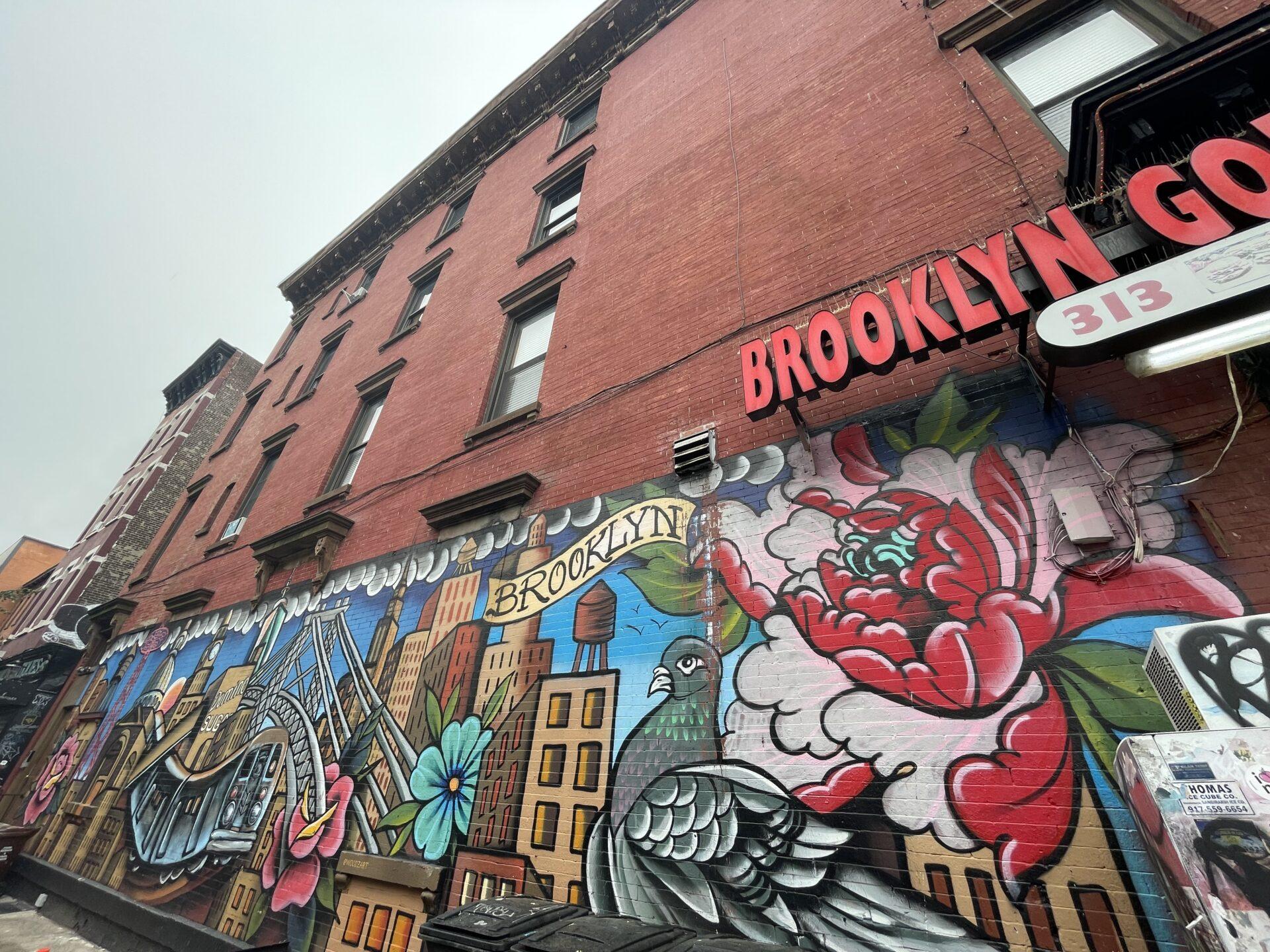 ブルックリン 壁画 Wall Paint @  Brooklyn New York